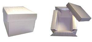 Коробки картонные ;8;37;38; x 105 x 105 мм