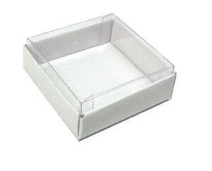 Коробки с прозрачной крышкой ;8;37;38;40; x 50 x 50 мм
