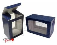 080х060х120 Коробка из микрогофрокартона с двойным окном_Пмо