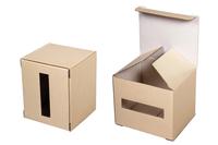 080x080х100 Коробка для кружки с отверстием для ручки_Пм