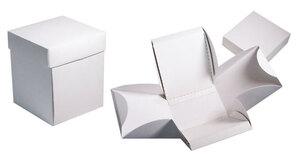 Коробки картонные ;8;37; x 80 x 80 мм