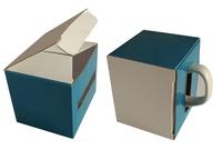 080x080х100 Коробка для кружки высотой 100 мм с отверстием для ручки_Пм