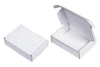 100х075х025 Чм МОС : Коробка белая из микрогофрокартона