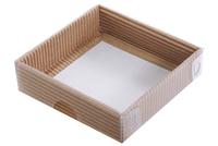 105х105х030 Коробка с прозрачной крышкой снаружи_Ткп