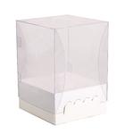105х105х090(140) Коробка-ложемент с прозрачной крышкой