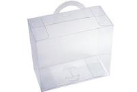 110х053х095 Прозрачная коробка с ручкой_ПРп