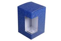 110x110х165 Коробка из микрогофрокартона с окном_Пмо