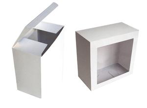 Коробки с окном ; x 112 x 57 мм