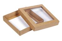 115х115х023 Картонная коробка с окном_Ткко