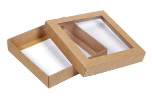 Коробки с окном ; x 115 x 115 мм