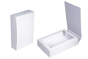 Коробки с окном ; x 120 x 40 мм