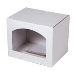 120х090х100 Коробка из микрогофрокартона с  окном аркой_Пмо