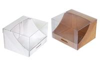 Коробка для пирожных 120х105х080 Тмп