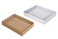 135х100х025 Подарочная коробка, прозрачная песенка спета внутрь_Ткп