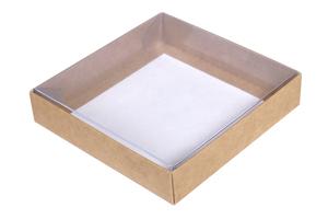 Коробки с прозрачной крышкой ;5; x 130 x 130 мм