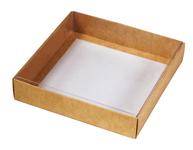 135х135х030 Коробка, прозрачная крышка внутрь_Ткп