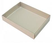 135х100х025 Подарочная коробка, прозрачная крышка внутрь_Ткп