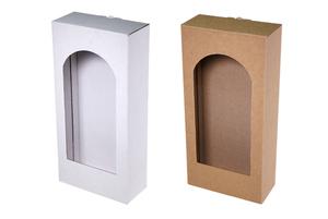Коробки с окном ; x 137 x 60 мм