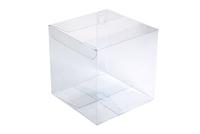 150х150х150 Коробка прозрачная замки боковые полукруг_Пп