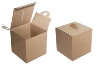 150х150х150 Коробка крафт : Подарочная упаковка в Москве