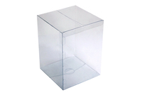150х150х200 Прозрачная цельнокроенная коробка_Пп