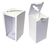 150х150х300  Коробка с прозрачным окном и ручкой_ПРмо