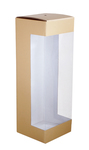 150х150х450 Коробка из микрогофрокартона с угловым окном_Пмо