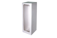 150х150х500 Коробка из микрогофрокартона с окном_Пмо