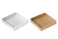 155х155х030 Ткп, картонные коробки с прозрачной крышкой