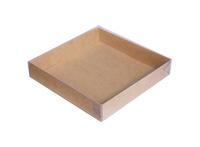 155х155х030 Коробка, прозрачная крышка снаружи_Ткп