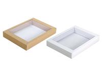 160(200)х125(145)х025  Коробка прозрачная крышка внутрь_Бкп