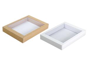 Коробки с прозрачной крышкой ;37;42;36; x 160 x 125 мм