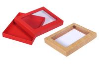 160х120х020 Коробка, на крышке прозрачное окно_Ткко