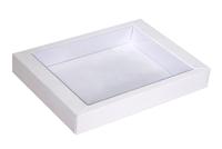 160х125х025  Коробка прозрачная крышка внутрь_Бкп