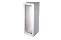 165х165х600 Коробка из микрогофрокартона с окном_Пмо