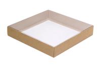 170х170х030 Коробка с прозрачной вставкой внутрь_Ткп