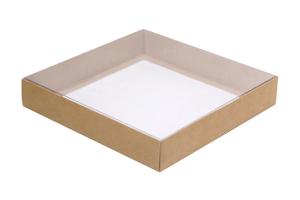 Коробки с прозрачной крышкой ; x 166 x 166 мм