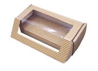 170х70х055 Коробка картонная с прозрачным окном и вставкой_ЧкоЛк