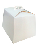 183(200)х183(200)х190  Коробка для кулича скошена кверху 183х183