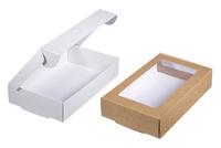 195х120х040 Коробка-чемоданчик с окном _Чкп