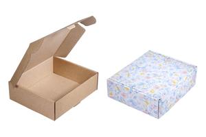 Коробки картонные ; x 195 x 170 мм