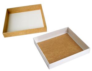 200х200х030 Ткп, коробка с прозрачной крышкой снаружи