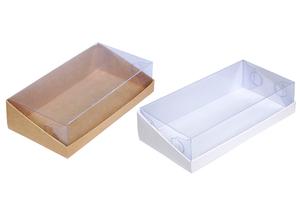 Коробки кондитерские и для фаст фуда ;50;24; x 205 x 105 мм