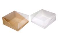 205х205х090 Ткп, коробка подарочная для торта