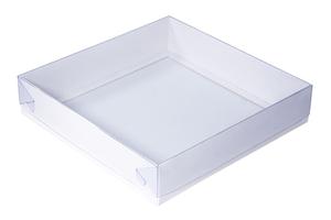 Коробки с прозрачной крышкой ;55; x 208 x 208 мм
