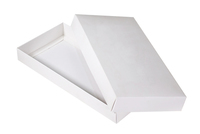 210х100х025 Ткк  : Белые картонные коробки