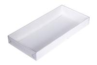 210х100х025 Ткп : Белая коробка с крышкой
