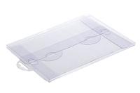 210х150х006 Прозрачный конверт с еврослотом