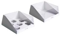 Коробка для капкейков 210х210х100 Ткп эко