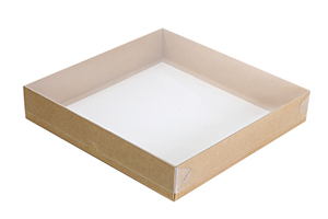 Коробки с прозрачной крышкой ;55;61; x 220 x 220 мм